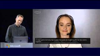 Skype Translator demo from WPC 2014