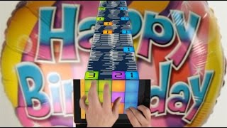 HOW TO PLAY HAPPY BIRTHDAY ON DRUM PADS 24 BASS POWER SOUNDPACK BY MOSKVIN
