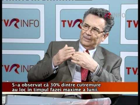 Amedeo Ene - Pot fi prevăzute cutremurele? Interviu cu Gheorghe Mărmureanu (TVR Info 2009)