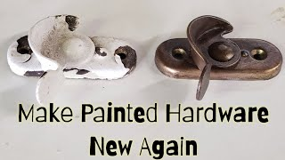 Make Painted Hardware New Again