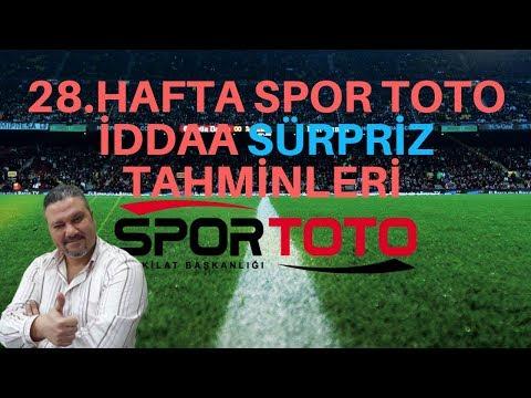 iddaabilirTV | Spor Toto 28.Hafta iddaa Tahminleri