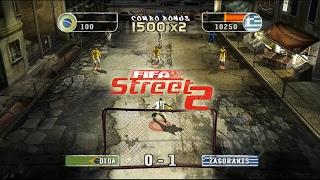 [60 FPS] Dolphin Emulator 5.0-2227 | FIFA Street 2 [1080p] | Nintendo GameCube