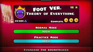 figcaption TOE WITH TOE 8) [#6] 'THEORY OF EVERYTHING' COMPLETE! (Foot Ver.) - Dorami | Footmetry Dash [2.1]