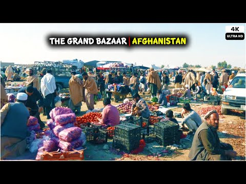 The Street Bazaar | Chaprahar | Afghanistan | 4K | 2021
