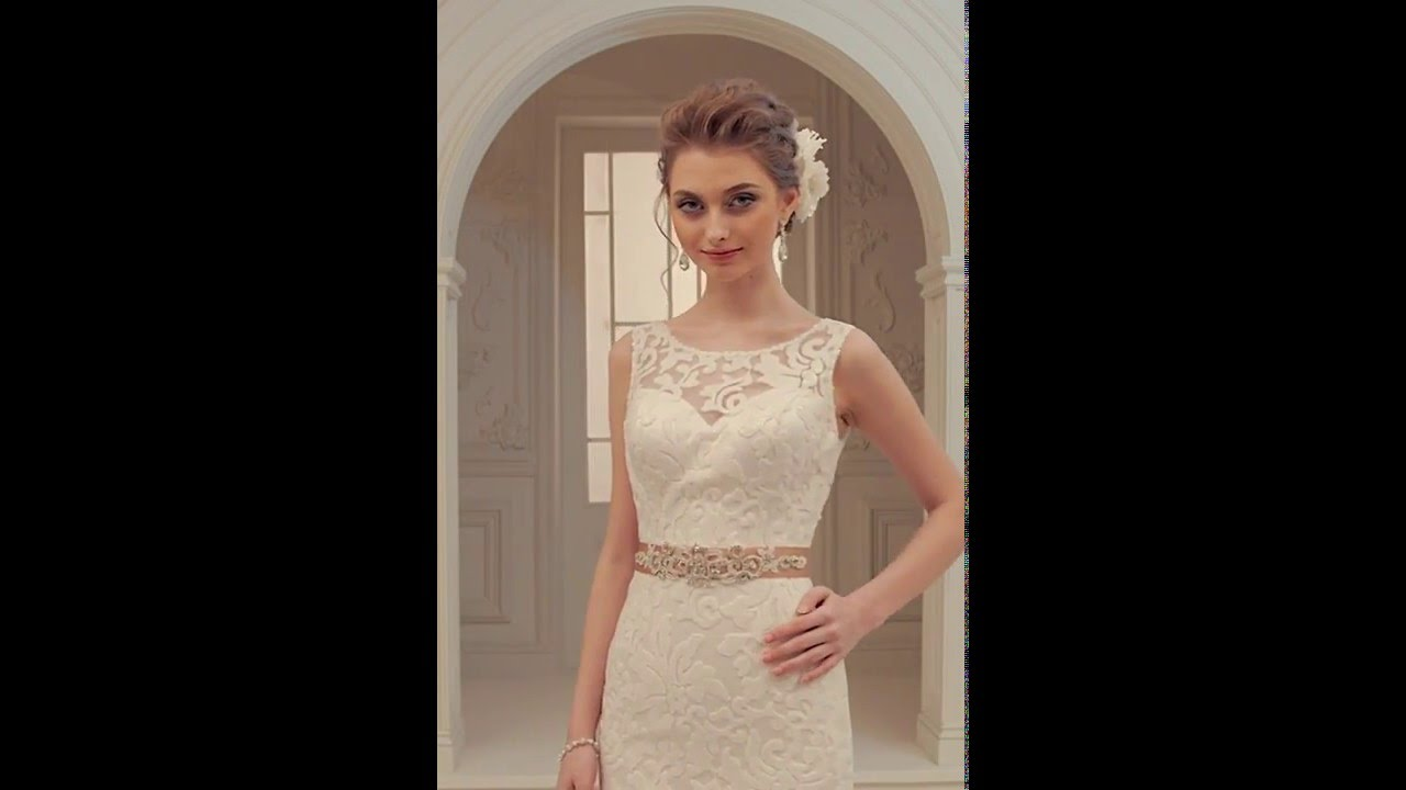 4a892221525a3 فيديوهات فساتين زفاف جميلة جدا. فل وياسمين لبدلات العرائس
