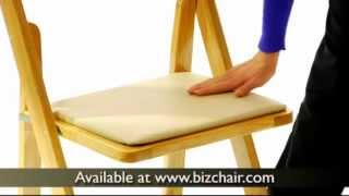 Hercules Branded Wooden Folding Chair.avi