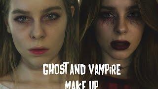 Макияж на Halloween: Мертвая девушка и Вампир / Dead Girl & Vampire Make up| Beauty Blanc(Предыдущее видео ------------------ Гигантский Halloween DIY | Beauty Blanc (https://youtu.be/CDdcO7dKGzM) ---------------------------------------------..., 2015-10-31T14:37:04.000Z)