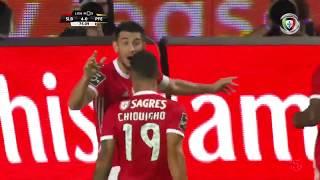 Goal   Golo Pizzi: Benfica (4)-0 Paços de Ferreira (Liga 19/20 #1)
