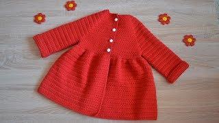 """""""Детское пальто крючком"""" (Children's coat hook)"""