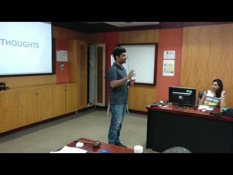 The Source - A talk on Thought Leadership by TM Ravi Teja Marrapu
