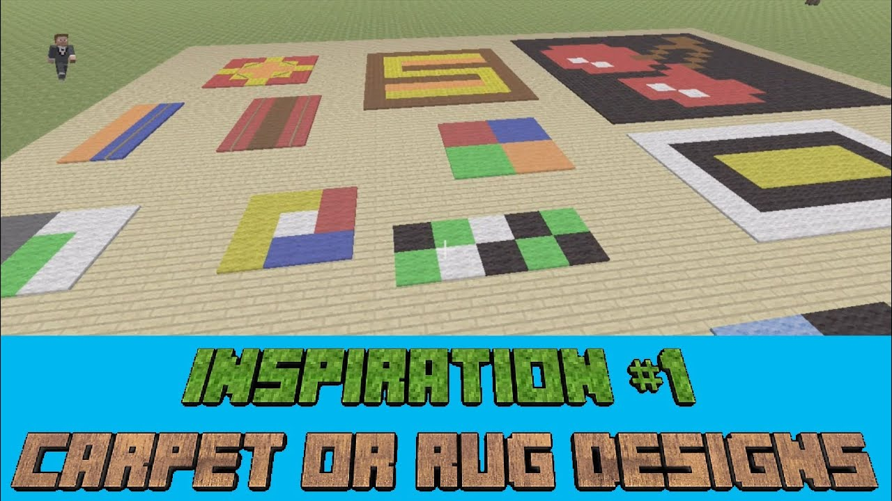 Minecraft Inspiration #1 - Carpet & Rug Designs (Xbox 360 ...