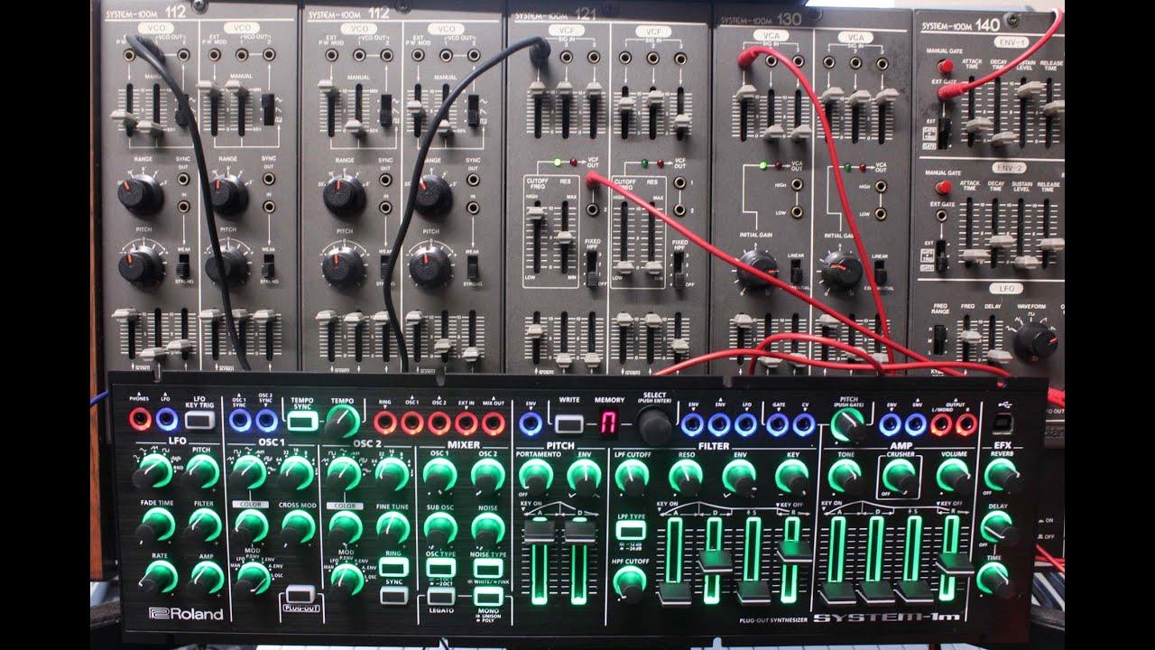 Roland System 1m : roland system 1m and system 100m together youtube ~ Hamham.info Haus und Dekorationen