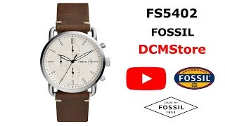 FS5402 Fossil The Commuter White Dial ...... DCMStore