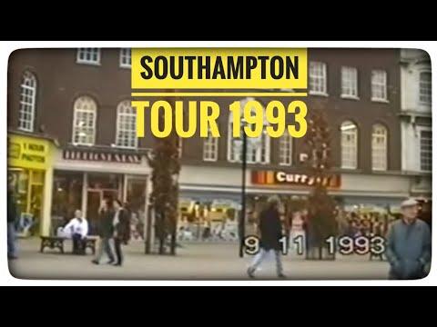 Southampton 1993,Ocean Village,Above Bar,Bargate,University,Town Quay,Pirelli,Vospers,Mayflower
