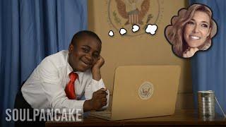 Kid President Talks to A Girl: Rachel Platten! #AwesomeGirls
