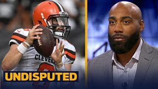 DeAngelo Hall talks Baker Mayfield's first career home start against the Ravens | NFL | UNDISPUTED