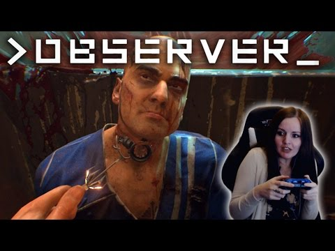 THIS IS TOO SCARY! Observer Gameplay Walkthrough Demo