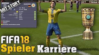 Fifa 18 Stürmer Spielerkarriere mit Story | Karrieremodus