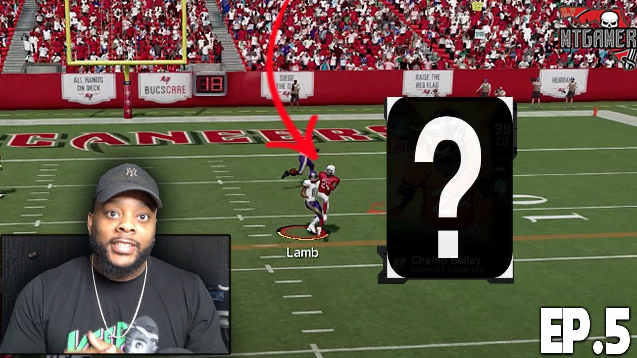 NEW UPGRADE MAKES A HUGE PLAY! THE MAKINGS OF LEGENDS EP. 5 MADDEN 20 GAMEPLAY