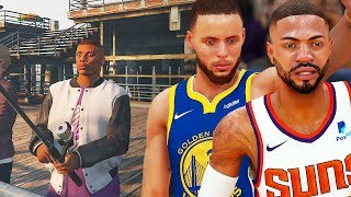 Kevin Durant Can't Save Steph! LeCross Goes Fishing To Relieve Some Stress! NBA 2K19 MyCAREER