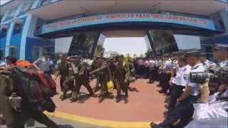 Penyambutan Calon Taruna/i Angkatan 58 STIP Jakarta Dari Madabintal 2015/2016