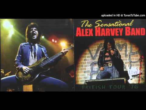 Sensational Alex Harvey Band Isobel Goudie Live 1976