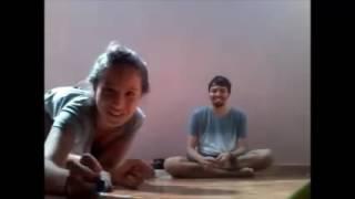parte final jogando bolinha de gude com Rogério e Maria