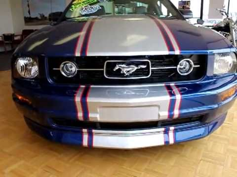 2008 Ford Mustang Custom Painted Stripes For Sale 1 800