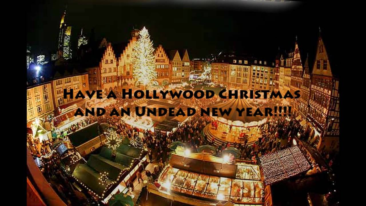 HOLLYWOOD ENDING - WHERE'S CHRISTMAS LYRICS