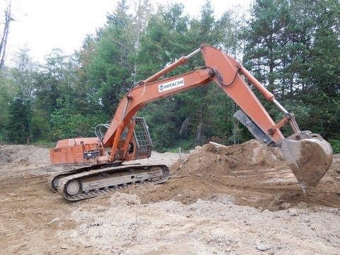 Hitachi Uho7 Excavator Youtube