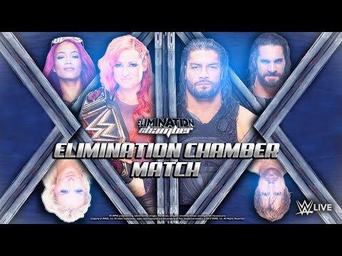 The Shield Vs. The Four Horsewomen WWE 2K18 Xbox One - WWE Underground Universe #2