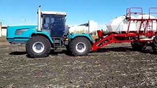 Трактор ХТЗ-243К және культиватор ALCOR 10