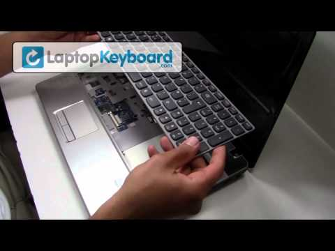 Lenovo Ideapad Keyboard Installation Z570 B570 Guide - Remove Replace Install Pavilion Laptop Z560