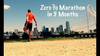 Zero to Marathon in 5 Months - Marathon Training   Day 5