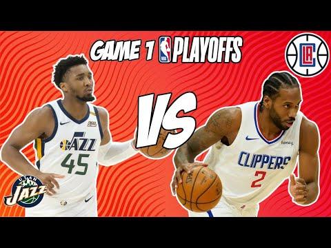 Utah Jazz vs Los Angeles Clippers Game 1 6/8/21 NBA Playoff Free NBA Pick & Prediction