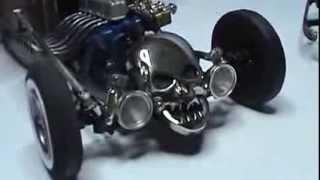 32 Ford Rat Rod model car