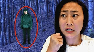 TRAPPED IN THE ABANDONED FOREST WITH THE HACKER!!