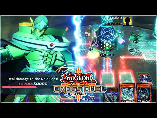 NEW RAID DUEL IS INSANE! Raiza The Storm Monarch BOSS!   Yu-Gi-Oh! CROSS DUEL Beta Gameplay