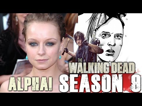 Samantha Morton Cast as Alpha & Norman Reedus on The Walking Dead After Rick!