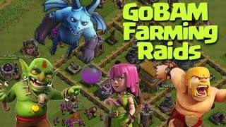 Clash of Clans - Back to Basics!! Quick Farming with GoBAM