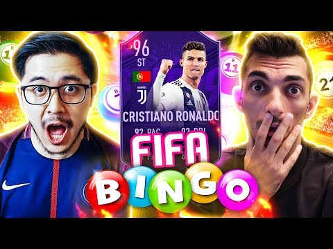 FIFA BINGO CON RONALDO HERO VS. ILCHINA