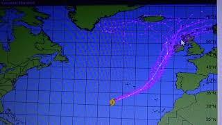 L' ouragan Ophelia prend la direction de l'Irlande
