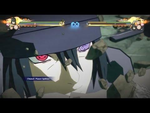 naruto ultimate ninja storm 4 sasuke uchiha moveset the last movie