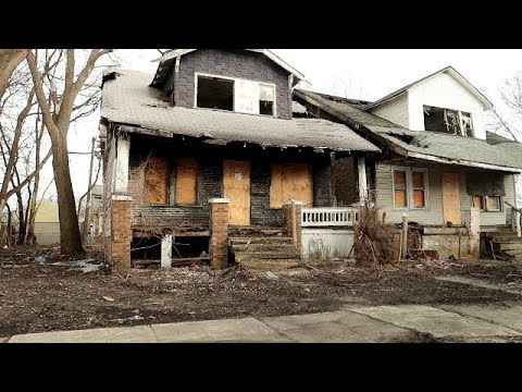 DETROIT'S MOST ABANDONED / FORGOTTEN HOODS