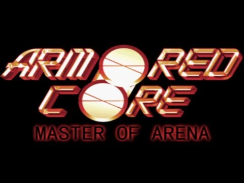 Classic PS1 Game Armored Core Master Of Arena On PS3 In HD 720p