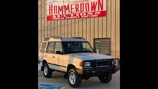 1998 land rover discovery hammerdown auctions