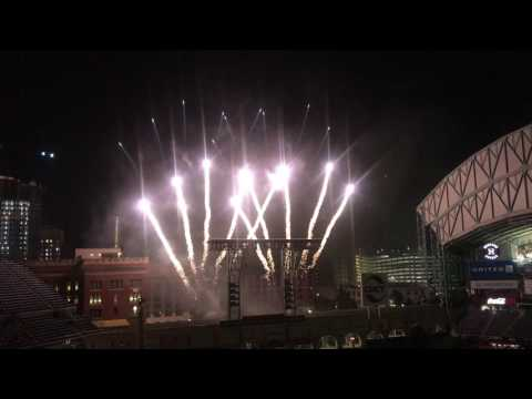 Astros 2016 Star Wars Night fireworks