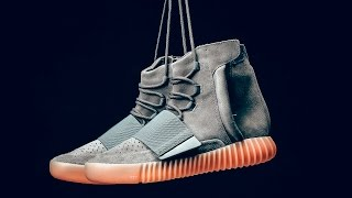 "Видеообзор adidas Yeezy 750 Boost ""Glow In The Dark"" от #SNKRRVWS"