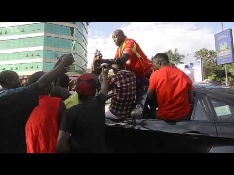 The return of Eddy Kenzo [BET AWADRS VICTORY]
