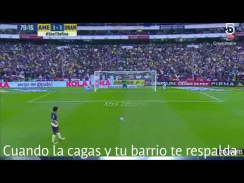 Penalty de Cecilio Dominguez a pumas a lo panenka